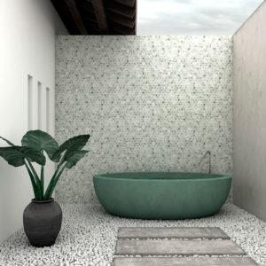 mosaïque marble