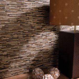 mosaïque vesta avec des pierres rectangulaires