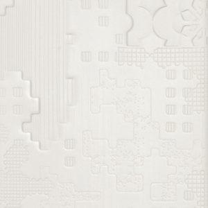 Patchwork Bianco 18·54-cm