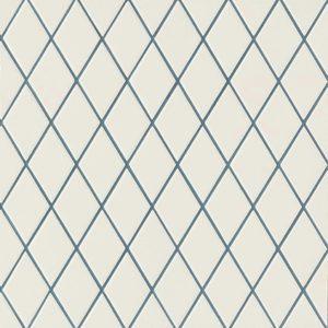 Losange White Blue
