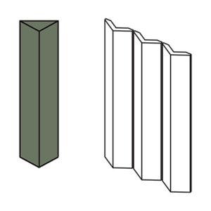 Triangle Large Green 3 pcs