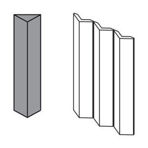 Triangle Large Grey 3 pcs