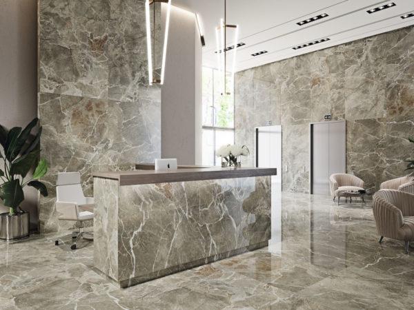 carrelage enna aspect marbre par baldocer