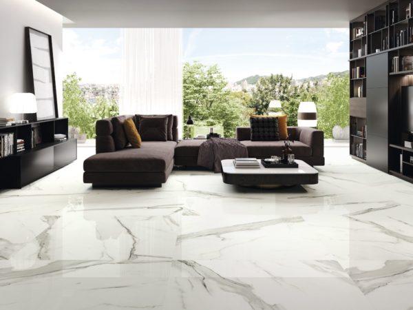 carrelage patmos aspect marbre par baldocer