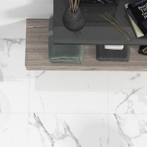 carrelage albufera aspect marbre par ecoceramic