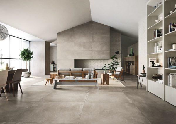 carrelage azuma aspect beton par imola ceramica