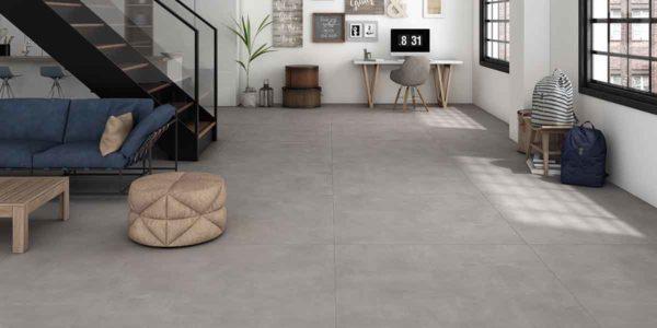 carrelage baltimore gris aspect beton par ecoceramic