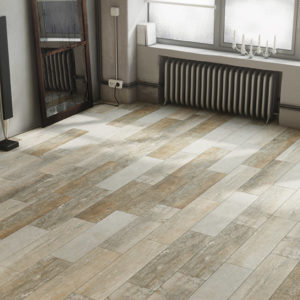 carrelage country aspect bois par ecoceramic