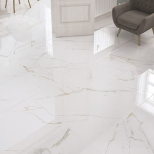 carrelage golden aspect marbre par ecoceramic