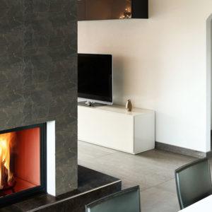 Faïence Pedriza aspect pierre pour intérieur par ecoceramic