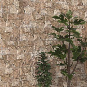 faïence donosti aspect pierre naturelle par ecoceramica