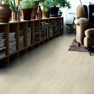 chêne blanc nordique revêtement de sol en vinyl par pergo